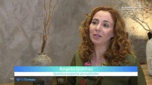 Ángela Quintas en el programa Tu Tiempo, de Roberto Brasero, en Antena 3